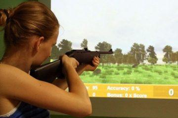 ירי בלייזר – פלייסטיישן