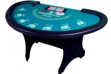 שולחן פוקר קאריבי