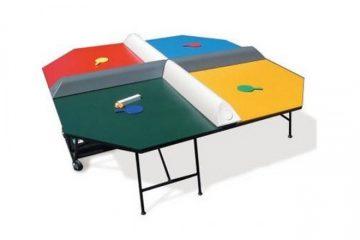 שולחן פינג פונג ל-4